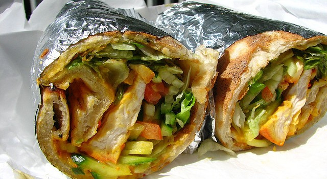 Best Indian food Ottawa - Chicken tikka wrap