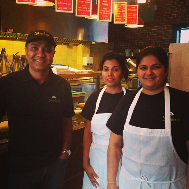 Some of the staff at our Glebe location #Ottawa #indianfood #happystaff #smiles